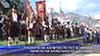 Пушката на капитан Петко Войвода начело на хайдушкото шествие