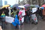 """Протест на жителите на столичния кв. """"Манастирски ливади"""""""