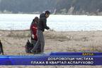 Доброволци чистиха плажа в квартал Аспарухово
