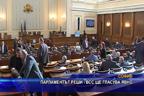 Парламентът реши - ВСС ще гласува явно