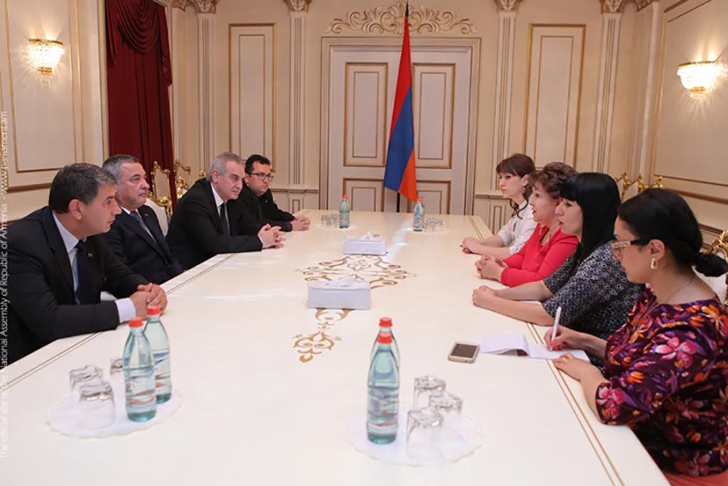 Делегация на Патриотичния фронт посети Армения