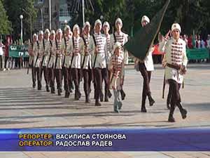 В Попово посрещнаха походниците тръгнапи по стъпките на Таньо войвода
