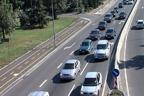 Пътен хаос на изхода на Бургас към Южното Черноморие