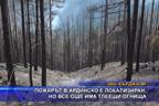 Пожарът в Ардинско е локализиран, но все още има тлеещи огнища