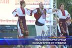 Трета фолклорна среща на българите от чужбина