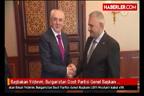 Лютви Местан се среща с турския премиер Бинали Йалдаръм