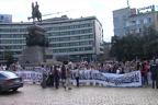 Стотици майки на деца инвалиди излязоха на национален протест пред парламента