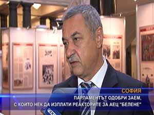 """Парламентът одобри заем, с който НЕК да изплати реакторите за АЕЦ """"Белене"""""""
