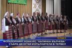 """Фолклорният конкурс """"Калинка Вълчева"""" събра десетки изпълнители в Тервел"""