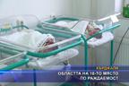 Областта на 18-то място по раждаемост