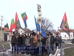 НФСБ и ВМРО почетоха 139 години от освобождението на София
