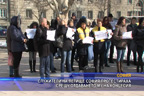 Служители на летище София протестираха срещу отдаването му на концесия