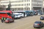 Автобусни превозвачи протестираха срещу монопола на фирми с турски капитали