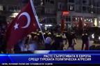 Расте съпротивата в Европа срещу турската политическа агресия