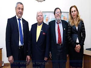 Вицепремиерът Валери Симеонов се срещна с български евреи