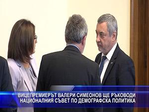 Симеонов ще ръководи националния съвет по демографска политика