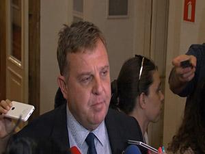 Коментар на министъра на отбраната Красимир Каракачанов