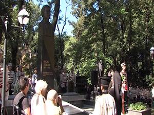 В парка на военната академия бе осветен паметникът на апостола