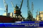 76% спад в износа на пшеница през порт Варна