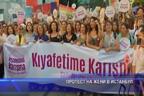 Протест на жени в Истанбул