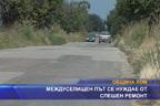 Междуселищен път се нуждае от спешен ремонт