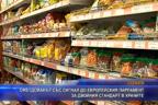 Омбудсманът със сигнал до европейския парламент за двойния стандарт в храните