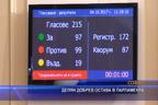 Делян Добрев остава в парламента