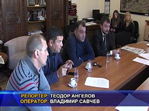 Борис Ячев прие украинска делегация от Запорожието