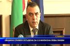 Община Сливен осъдена за 2.5 милиона лева лихви