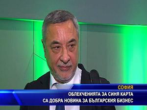 """Облекченията за """"Синя карта"""" са добра новина за българския бизнес"""