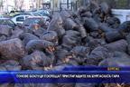 Тонове боклуци посрещат пристигащите на Бургаската гара