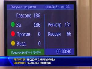 Парламентът ратифицира договора за добросъседство с Македония