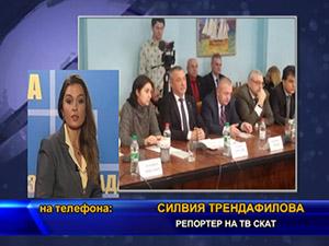 Делегация, предвождана от вицепремиера Валери Симеонов е на посещение в Одеса