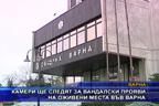 Камери ще следят за вандалски прояви на оживени места във Варна