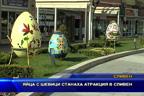 Яйца с шевици станаха атракция в Сливен
