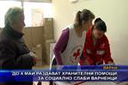 До 4 май раздават хранителни помощи за социално слаби варненци