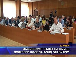 """Общинският съвет на Шумен подкрепи НФСБ за фонд """"Ин витро"""""""