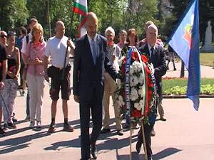 НФСБ и СКАТ почетоха паметта на Христо Ботев