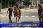 Кучета, коне и каруци - новите символи на съвременен Омуртаг
