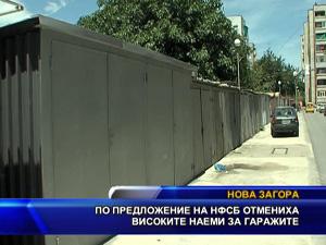 По предложение на НФСБ отмениха високите наеми за гаражите