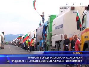 Протестите срещу законопроекта за горивата ще продължат и в сряда пред министерски съвет и парламента