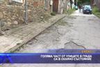 Голяма част от улиците в града са в окаяно състояние