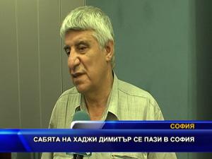 Сабята на Хаджи Димитър се пази в София