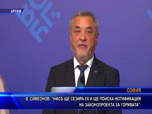 Симеонов: НФСБ ще сезира EK и ще поиска нотификация на законопроекта за горивата