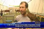 5 метров питон и красиви грабливи птици привличат посетители в Бургас