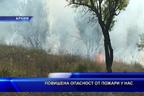 Повишена опасност от пожари у нас