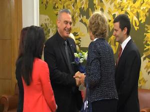 Валентин Касабов се срещна с посланика на кралство Нидерландия Беа Тен Тъшер