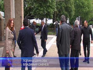 """Водачът на листата коалиция """"Патриоти за Валери Симеонов"""" проведе среща с членове и симпатизанти"""