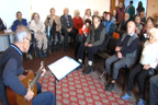 Празнична програма в дома за стари хора в Горна Баня