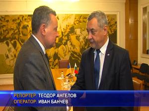 Симеонов се срещна с посланика на Украйна у нас Виталий Москаленко